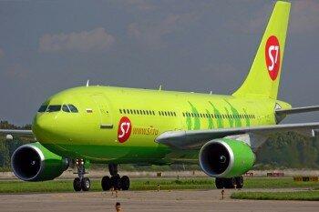 самолет компании S7