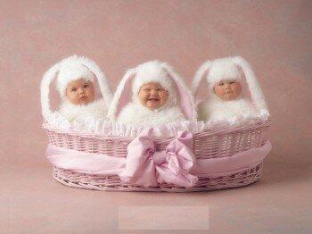 рождение тройни