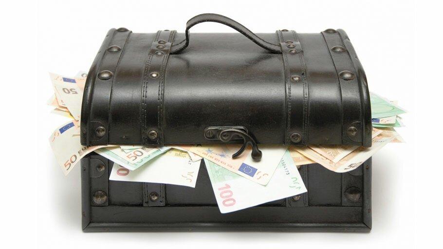 чемодан денег в наслеедство