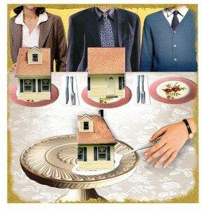 Порядок наследования имущества без завещания жена дети